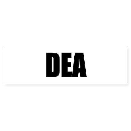 DEA Bumper Sticker