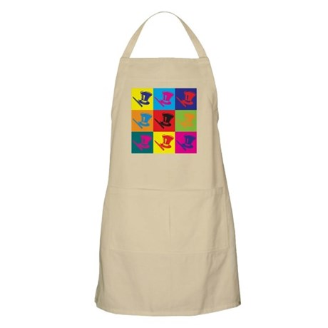 Magic Pop Art BBQ Apron