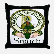 Smyth Clan Motto Throw Pillow