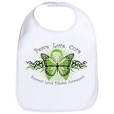 Lyme Disease Butterfly Bib