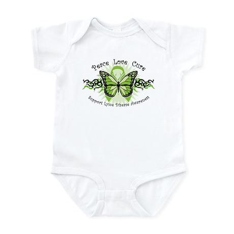 Lyme Disease Butterfly Infant Bodysuit