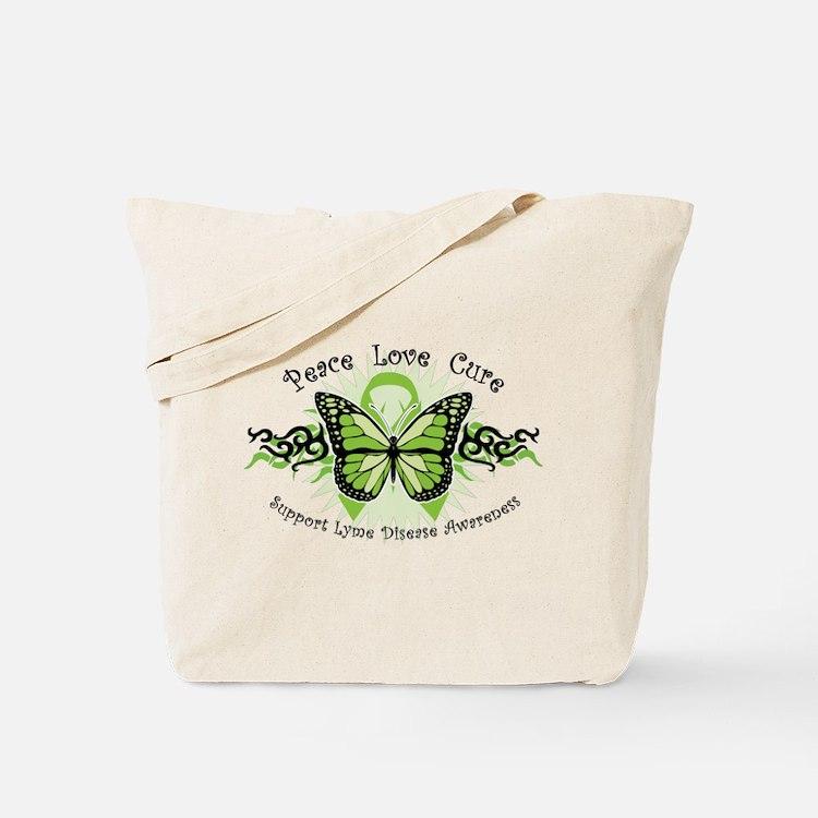 Lyme Disease Butterfly Tote Bag