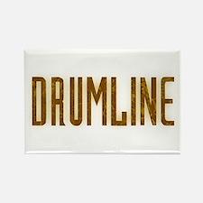 Drumline Brown Rectangle Magnet