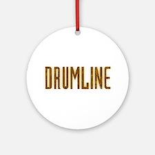 Drumline Brown Ornament (Round)