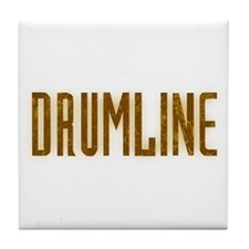 Drumline Brown Tile Coaster