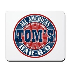 Tom's All American BBQ Mousepad