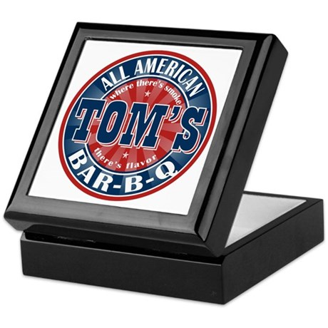 Tom's All American BBQ Keepsake Box