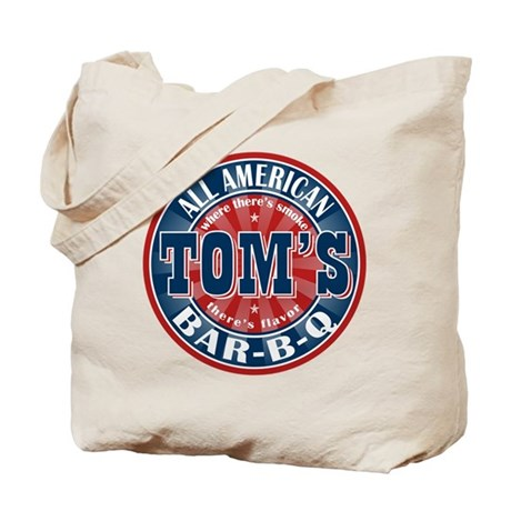 Tom's All American BBQ Tote Bag