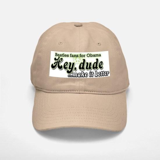 Hey Jude (Beatles fans for Obama Baseball Baseball Cap)