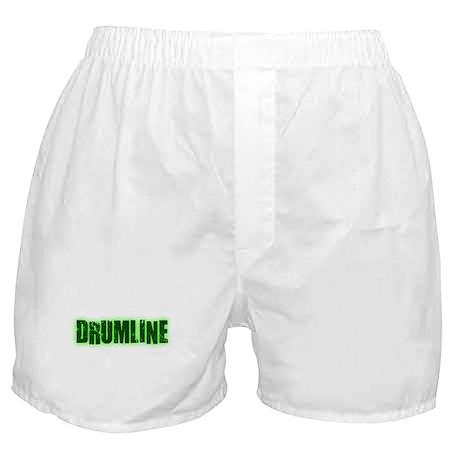Drumline Green Boxer Shorts
