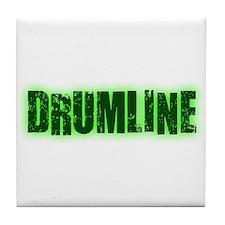 Drumline Green Tile Coaster