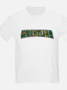 Wrestling Camo T-Shirt