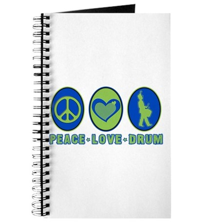 PEACE - LOVE - DRUM Journal