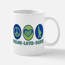 PEACE - LOVE - DRUM Mug