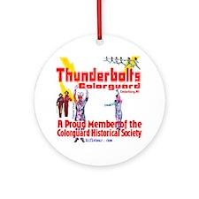 Thunderbolts Colorguard Ornament (Round)