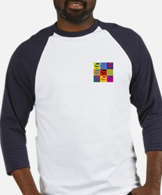 Library Work Pop Art Baseball Jersey