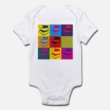 Library Work Pop Art Infant Bodysuit