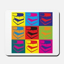 Library Work Pop Art Mousepad