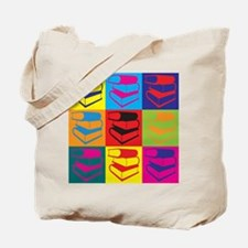 Library Work Pop Art Tote Bag