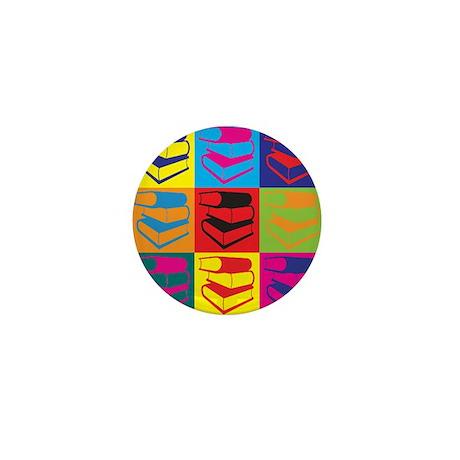 Library Work Pop Art Mini Button (10 pack)