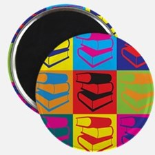 Library Work Pop Art Magnet