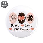 Peace Love GSP Rescue 3.5