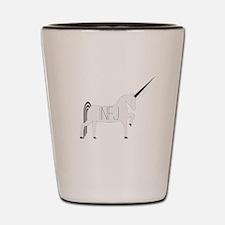INFJ Unicorn Shot Glass