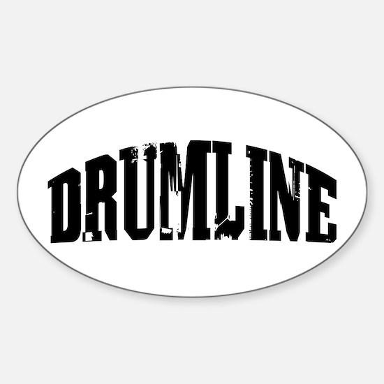 Drumline Oval Decal