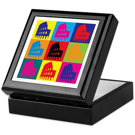 Latin Pop Art Keepsake Box