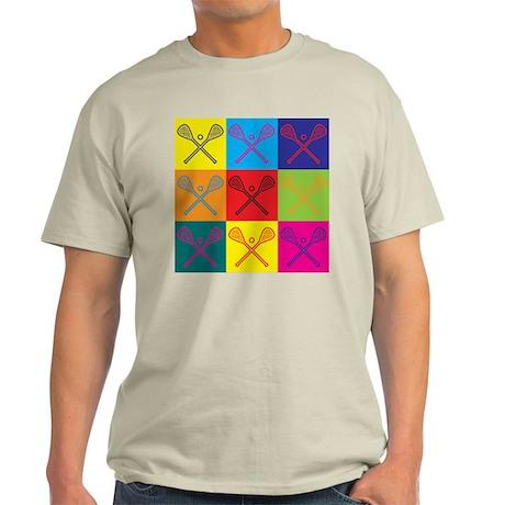 Lacrosse Pop Art Light T-Shirt