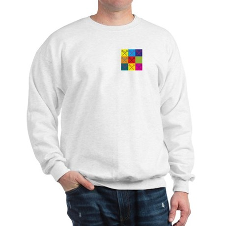 Lacrosse Pop Art Sweatshirt