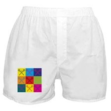 Lacrosse Pop Art Boxer Shorts