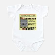 2 year old birthday gift Infant Bodysuit