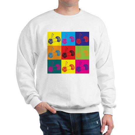 Knitting Pop Art Sweatshirt