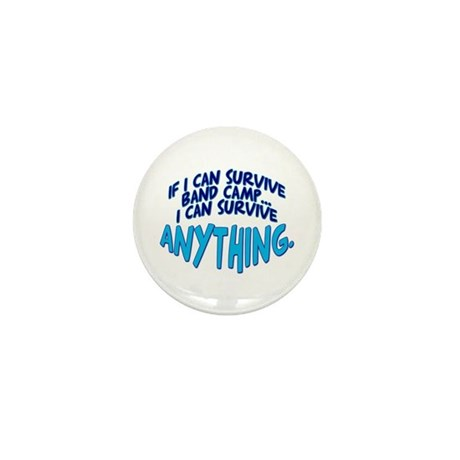 If I can Survive Band Camp... Mini Button (100 pac