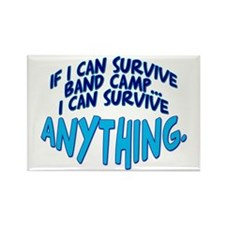 If I can Survive Band Camp... Rectangle Magnet