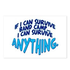 If I can Survive Band Camp... Postcards (Package o