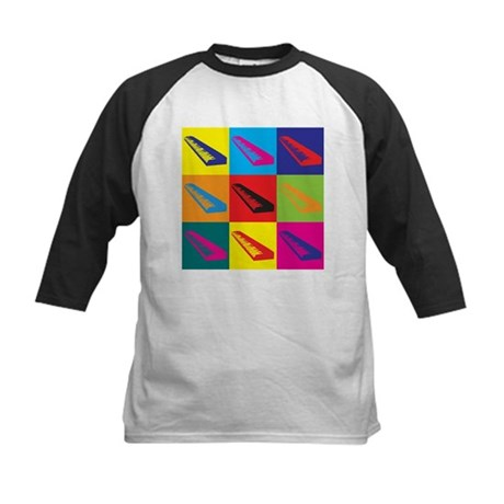 Keyboards Pop Art Kids Baseball Jersey