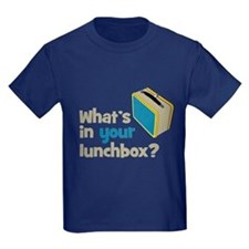 Lunchbox Kids Navy T-Shirt