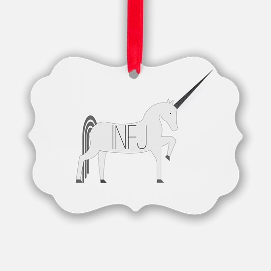 INFJ Unicorn Ornament