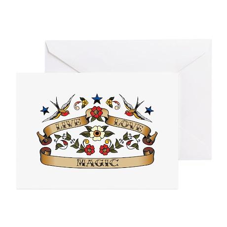 Live Love Magic Greeting Cards (Pk of 10)