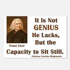 Liszt and Sitting Still Postcards (Package of 8)