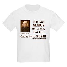Liszt and Sitting Still T-Shirt