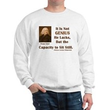 Liszt and Sitting Still Sweatshirt