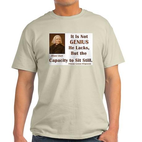 Liszt and Sitting Still Light T-Shirt