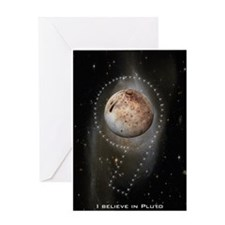 I believe in Pluto Greeting Card