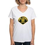 King County Police Women's V-Neck T-Shirt