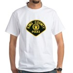 King County Police White T-Shirt
