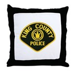 King County Police Throw Pillow