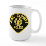 King County Police Large Mug